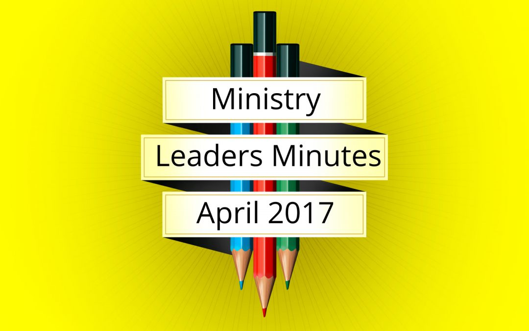 April 2017 Meeting Minutes