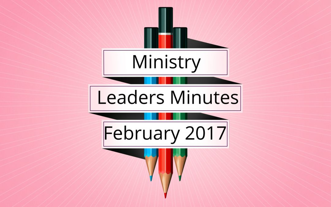 February 2017 Meeting Minutes