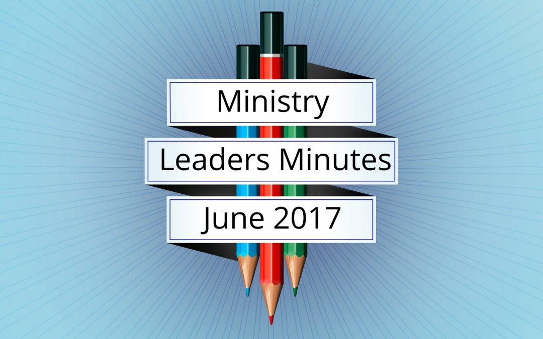 June 2017 Meeting Minutes