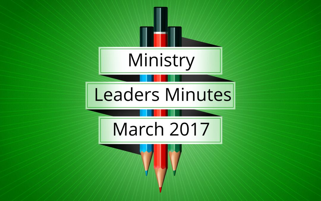 March 2017 Meeting Minutes