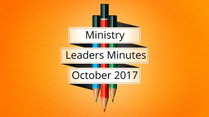October 2017 Meeting Minutes