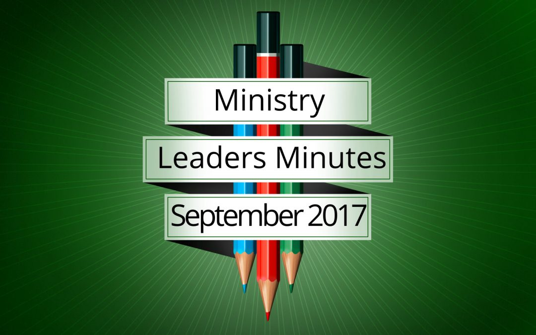 September 2017 Meeting Minutes