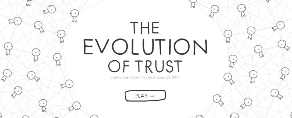 Evolution of Trust Graphic