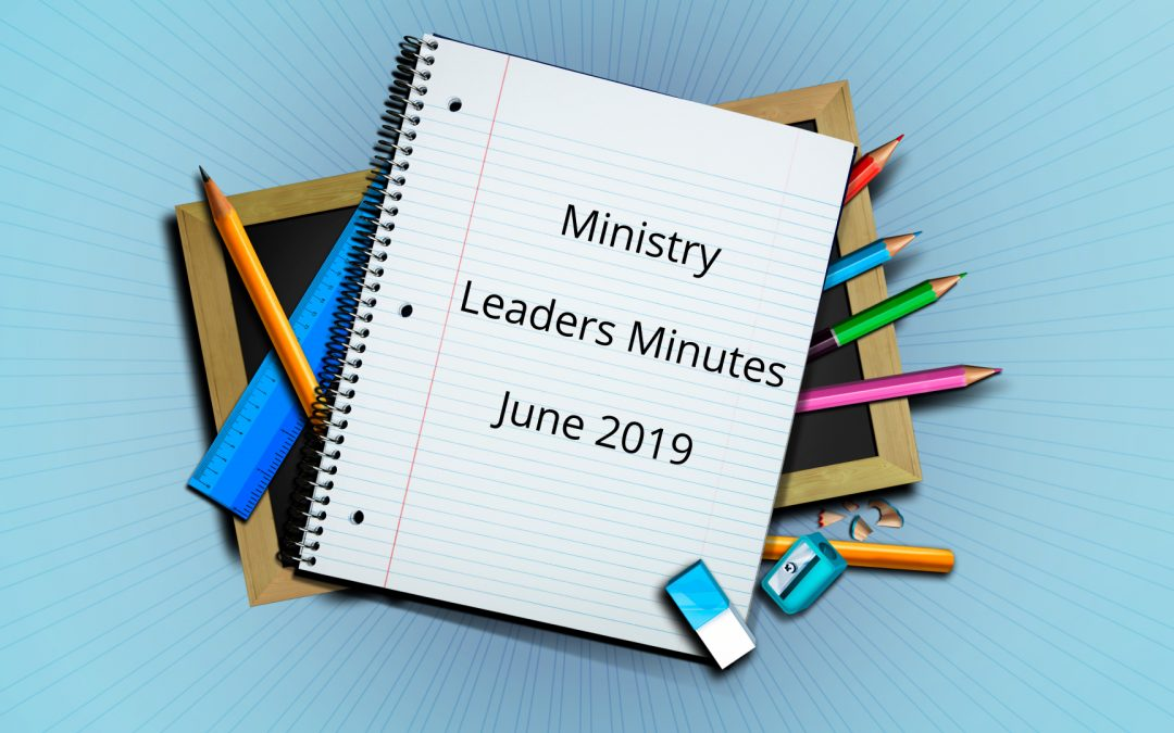 June 2019 Meeting Minutes